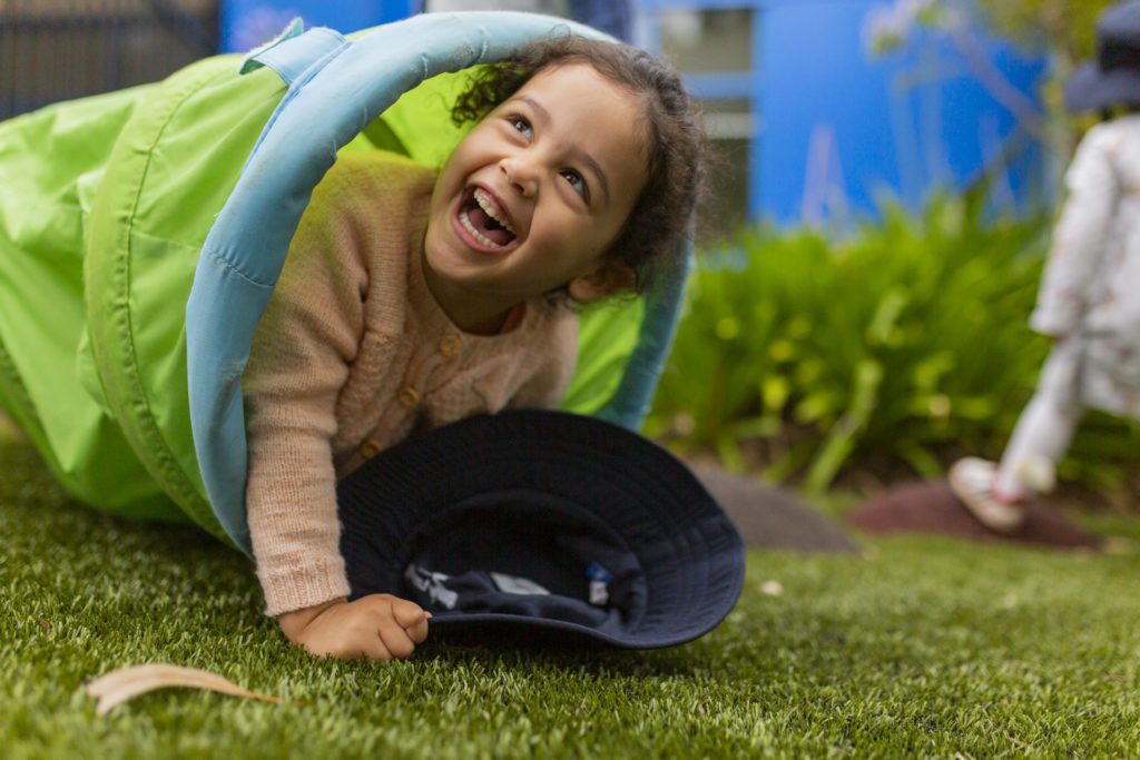 Early Learning Student Laughing